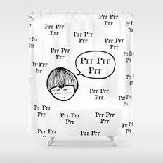 Prrrr Shower Curtain