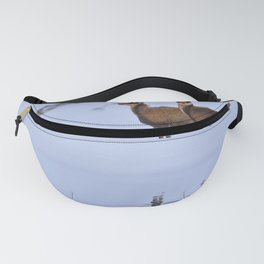 Chamois in the snow  Fanny Pack