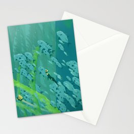 Abzu Paintover Stationery Cards