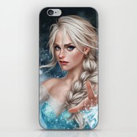 elsa iPhone & iPod Skins featuring Elsa by Fernanda Suarez