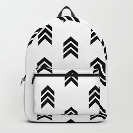 Mini Chevron Arrows Backpack