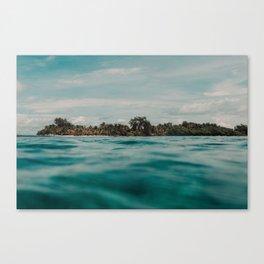 Shipwrecked Ocean Blues Canvas Print