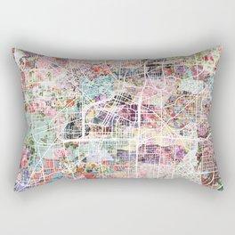 Akron map Rectangular Pillow