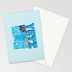 Successful Yeti Hunt Stationery Cards