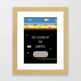 The Landfill Legend Framed Art Print