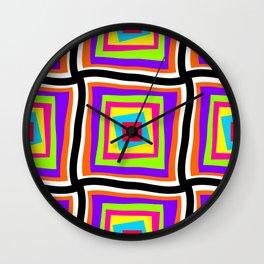Introspection Mosaic Wall Clock