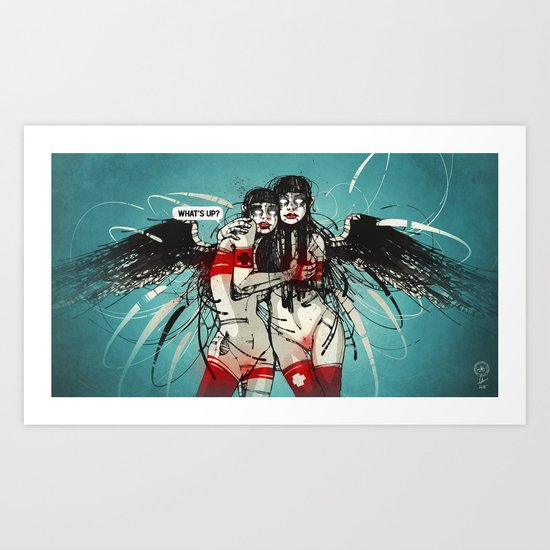 Nymph II: Exclusive Art Print