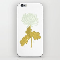 Ghost Flower iPhone & iPod Skin