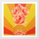 A Rose Burst by lifewithmizlulu