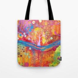 The Springtree Tote Bag