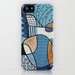 Scratched Below the Surface iPhone Case