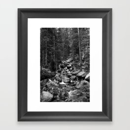 Mountain Creeks Framed Art Print
