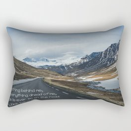 Iceland, on the road Rectangular Pillow