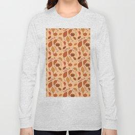 Leaves and pumpkins Long Sleeve T-shirt