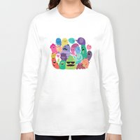 monsters inc Long Sleeve T-shirts featuring Monsters by Maria Jose Da Luz