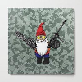 Gnome Guns 2 Metal Print