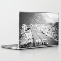 irish Laptop & iPad Skins featuring Irish Sheeps by GF Fine Art Photography