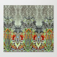 paisley Canvas Prints featuring Paisley by BellagioVista