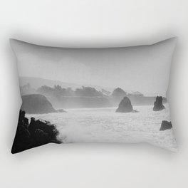 Misty Cliffs of the Soul Rectangular Pillow