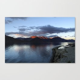 ...at the end of the day! Canvas Print