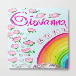 Giovanna Rose Metal Print