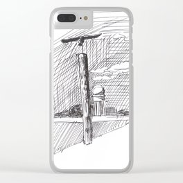 Sculpture at Tempelhofer Feld Clear iPhone Case