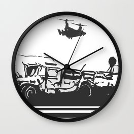 Tactical Field Exercise Wall Clock