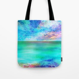 Ocean at Sunrise Tote Bag