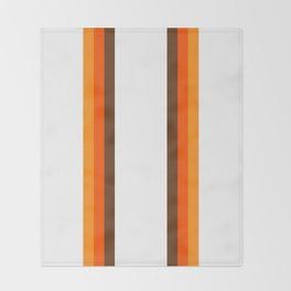 Harvest Rainbow - Straight Throw Blanket