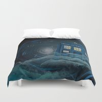 doctor who Duvet Covers featuring doctor who by Annelies202