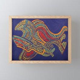COLOR MY WORLD 11 (MOTO) Framed Mini Art Print