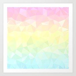 Pretty Pastels Art Print