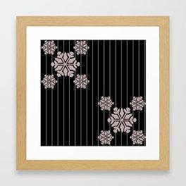snowflake 7 Framed Art Print