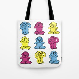 Monkey, monkey, monkey Tote Bag