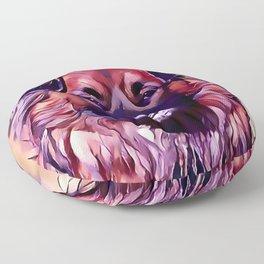 The Eurasian Dog Floor Pillow