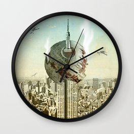 impaled on the empire Wall Clock