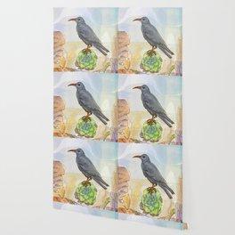 Bird on the Flower / Graja y Bejeque Wallpaper