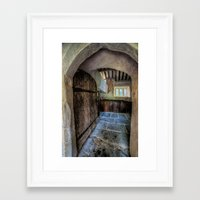 pagan Framed Art Prints featuring Pagan Church by Adrian Evans