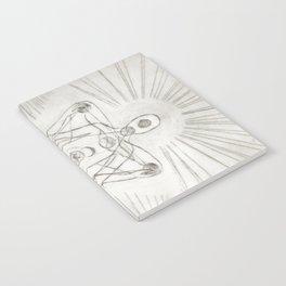 Samadhi white Notebook