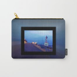 Seaside scene blurry Carry-All Pouch