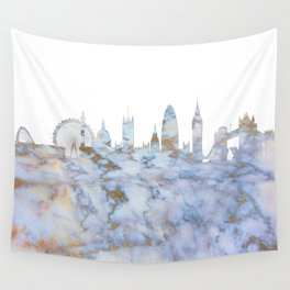 London Skyline Great Britain Wall Tapestry