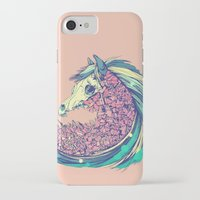horse iPhone & iPod Cases featuring Beautiful Horse by dvdesign