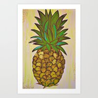 Fineapple Art Print