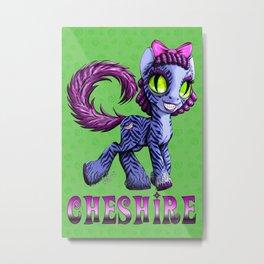 Cheshire Metal Print