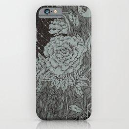 Flower three iPhone Case