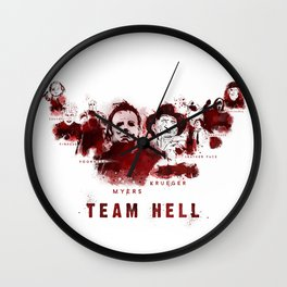 Team Hell #2 Wall Clock
