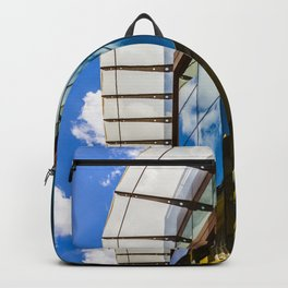 Modern and classic architecture Backpack