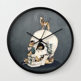 WOLFPACK Wall Clock