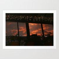 Stars in the Clouds Art Print