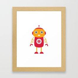 Cute robot Framed Art Print